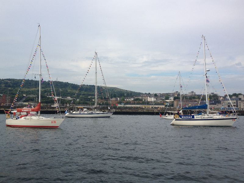 Commonwealth Games Flotilla Photo: Marilyn Robertson