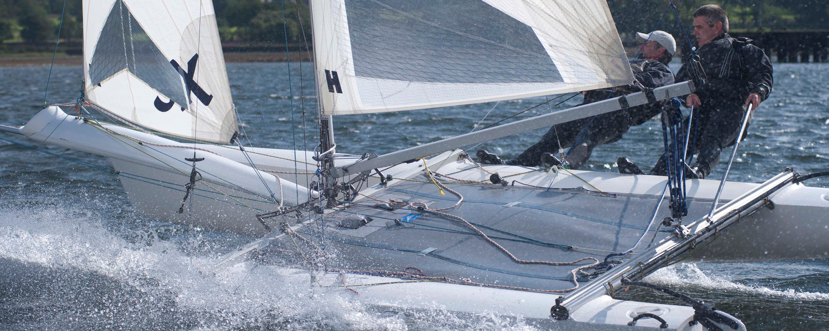 Hurricane 5.9 at Largs Regatta Week 2012, Photo by Marc Turner