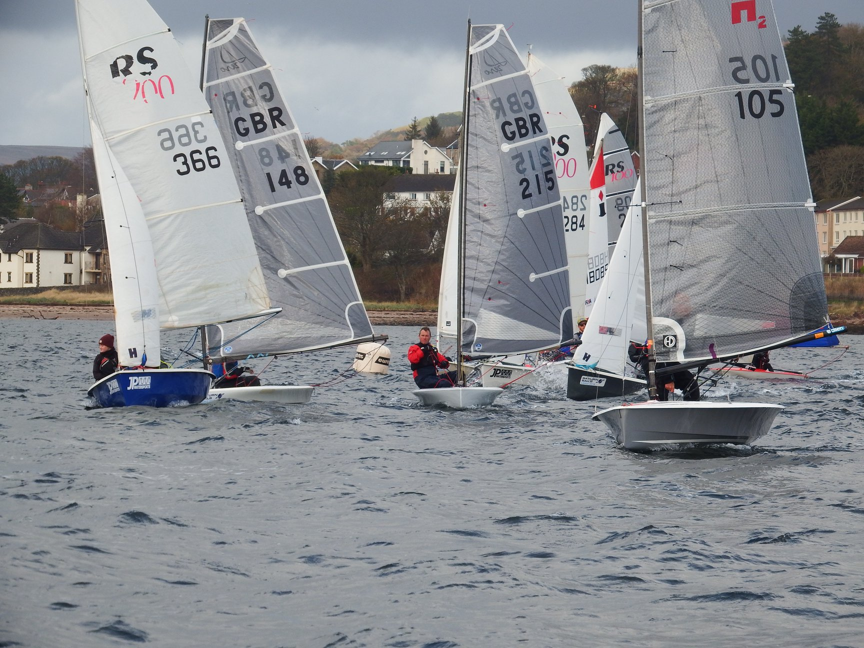 Club Racing at Largs SC